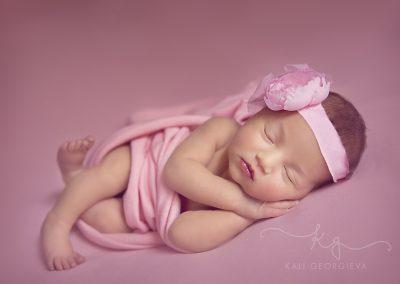 Фотосесия на бебе Вероника, 10 дни