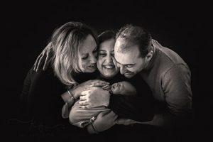 Домашна фотосесия новородено бебе