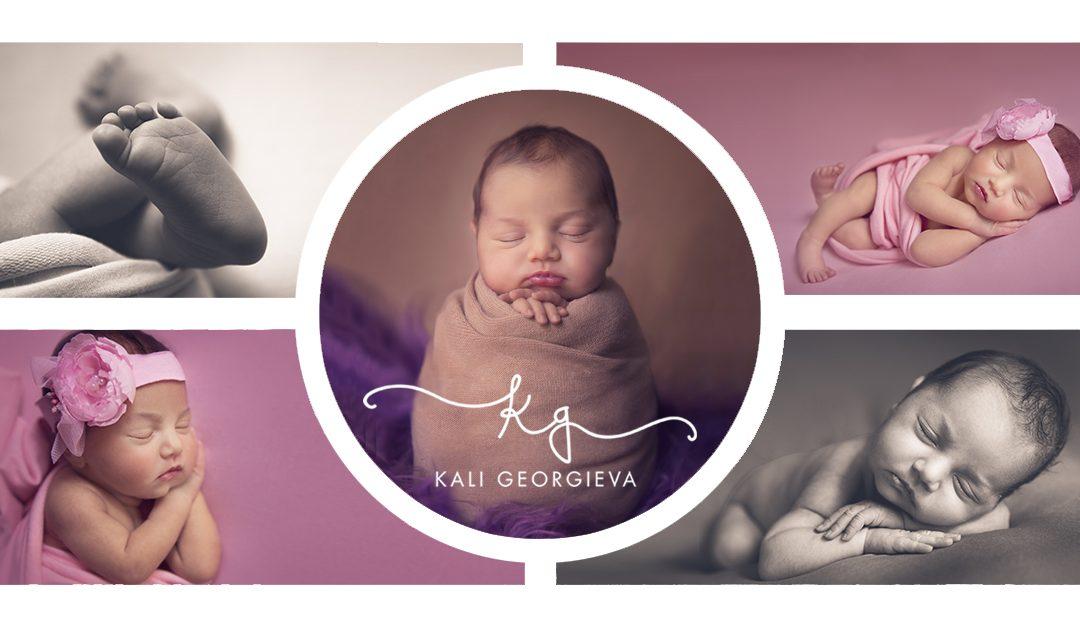 Фотосесия на бебе