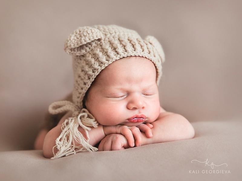 Фотосесия новородено бебе