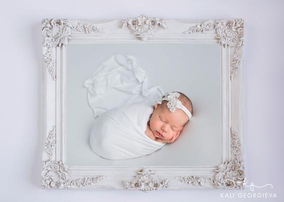 Бебешка фотосесия новородено