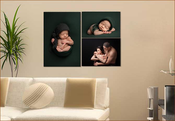 Как да подредя снимките от бебешката фотосесия